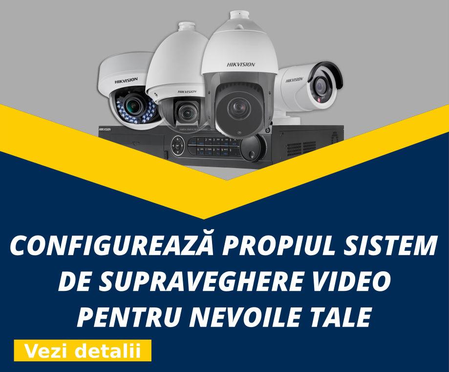 Configurator sisteme de supraveghere video
